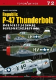 Republic P-47 Thunderbolt, XP-47 B, P-47 B, C, D, G