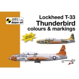 Lockheed T-33 C&M+decals 1/72