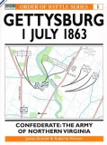 Gettysburg July 1 1863, Confederate: The Army of Northern Virginia