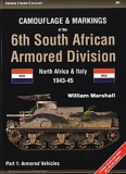 Camouflage and Markings of the 6th South African Armored Division, North Africa and Italy 1943-45