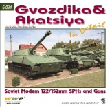 Soviet Gvozdik and Akacia SPH in detail