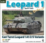 Leopard 1 in Detail díl 2 / Cast Turret Leopard 1 A1/2/5 Variants