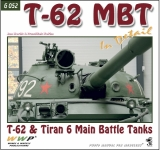 T-62 and Tiran 3/6 MBTs in Detail