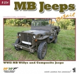 MB Jeeps in detail, WW II Willys MB and Composite Jeeps