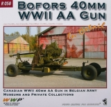 Bofors 40mm WW II AA Gun in detail