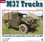 M37 and M43 Dodge Trucks in detail