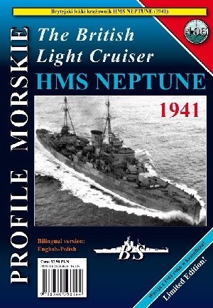 The British Light Cruiser HMS Neptun 1941