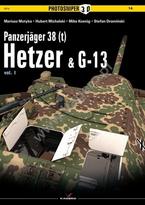 Panzerjager 38 (t) Hetzer and G13 vol. I