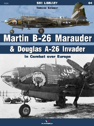 Martin B-26 Marauder and Douglas A-26 Invander in Combat over Europe