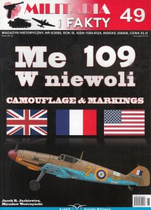 Me 109 W niewoli - camouflage and markings