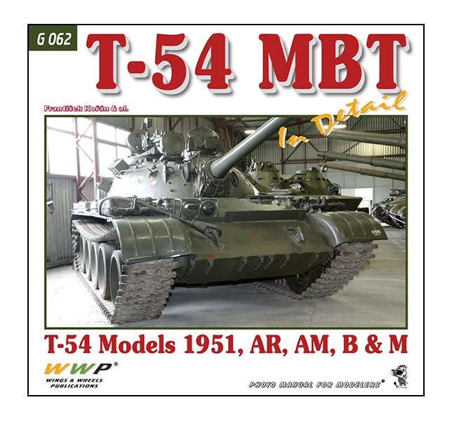 T-54 MBT in detail – Models 1951, AR, AM, B and M