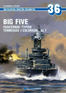 Big Five Pancerniki typów Tennessee i Colorado 1.díl