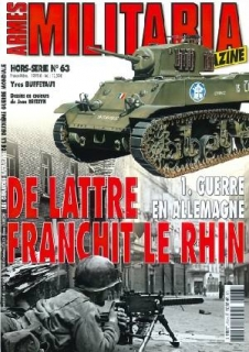 No.63 De Lattre Franchit le Rhin