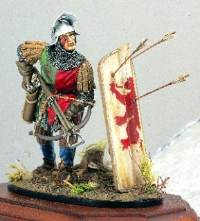 French Crossbowman Crecy 1346