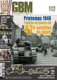 Guerre, Blindes and Materiel 112