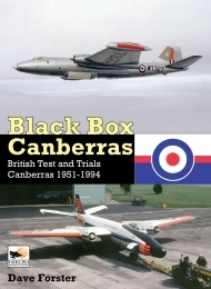 Black Box Canberras, British Test and Trials Canberras 1951-1994