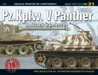 Pz.Kpfw. V Panther In Attack and Defence