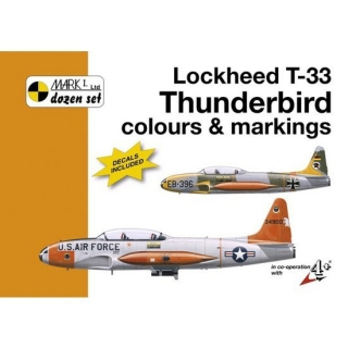 Lockheed T-33 C&M+decals 1/32