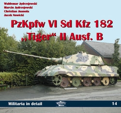 PzKpfw VI Tiger II Ausf.B in detail