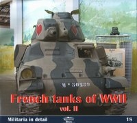 French tanks of WW II vol. 2 in detail
