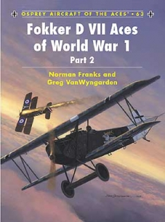Fokker D VII Aces of WW1 Pt.2