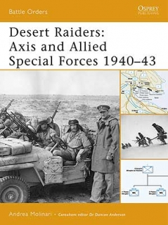 Desert raiders: Axis and Allied Special Forces 1940-43