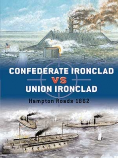 Confederate Ironclad vs. Union Ironclad, Hampton Roads 1862