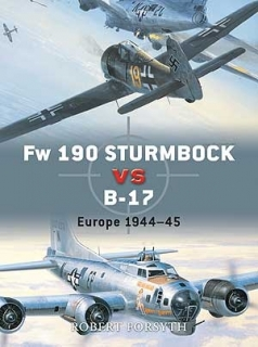 Fw-190 Sturmbock vs B-17, Europe 1944-45