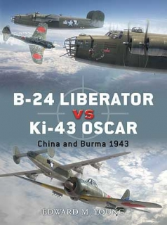 B-24 Liberator vs. Ki-43 Oscar, China and Burma 1943