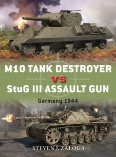 M10 Tank Destroyer vs StuG III Assault Gun, Germany 1944