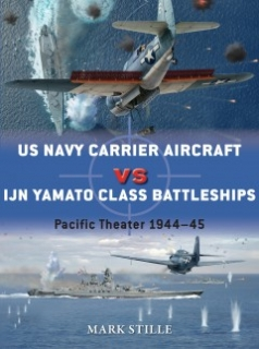 US Navy Carrier Aircraft vs IJN Yamato Class Battleships, 1944-45