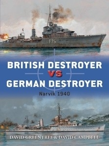 British Destroyer vs German Destroyer