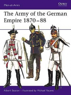 The army of the German empire 1870-1888