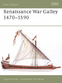 Renaissance War galley 1470-1590