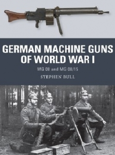 German Machine Guns of World War I, MG 08 and MG 08/15