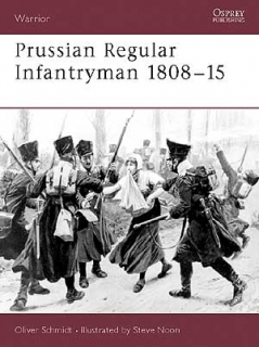 Prussian regular infantryman 1808-15