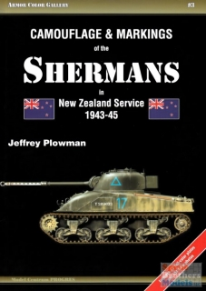 Camouflage and Markings of the Shermans in New Zealand service 1943-45