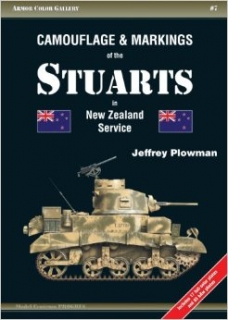 Camouflage and Markings of the Stuarts in New Zealand Service