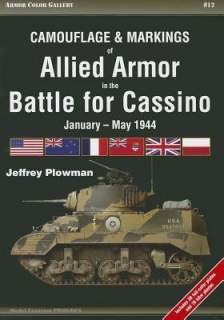 Camouflage and Markings of Allied Armor in the Battle for Cassino, January-May 1944