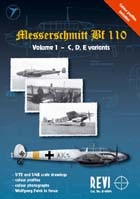 Messerschmitt Bf 110  Volume I - C/D/E variants