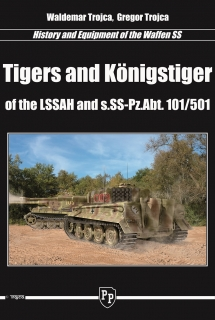 Tiger and Konigstiger of the LSSAH and s.SS-Pz.Abt 101/501