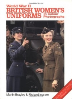 WW II British Women´s Uniforms In Colour Photo