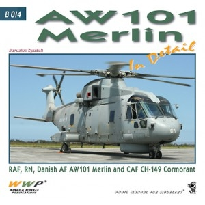 AW-101 Merlin helicopters in detail