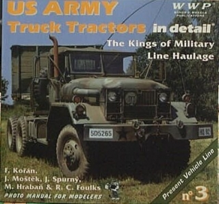 US Army truck tractors in detail