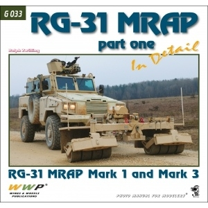 RG-31 Mark 1/3 MRAP in detail
