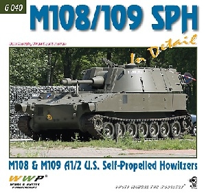 M108/M109 and 109A2 SPH in detail