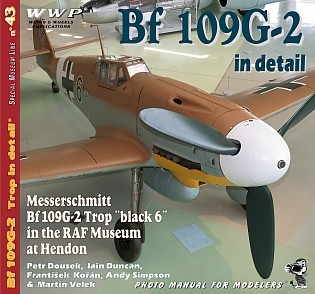Messerschmitt Bf-109 G-2 Trop in detail