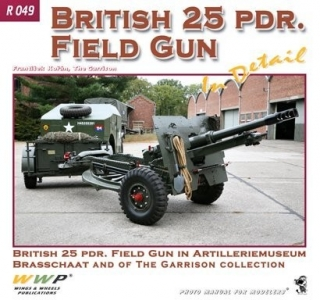British 25pdr Field Gun in detail