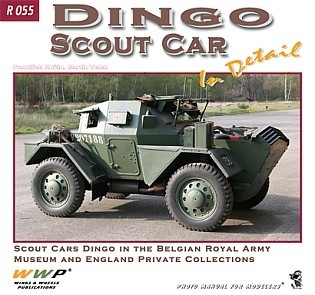 Dingo Scout Car in Deatail