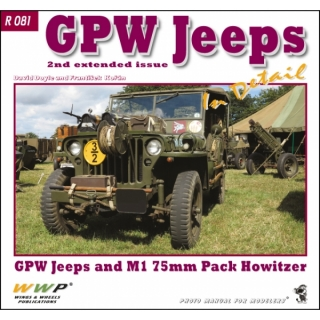 GPW Jeeps + M1 Howitzer in detail
